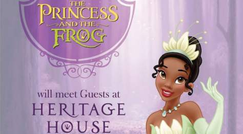 Princess Tiana and Prince Naveen from Princess and the Frog move to Heritage House in the Magic Kingdom kennythepirate