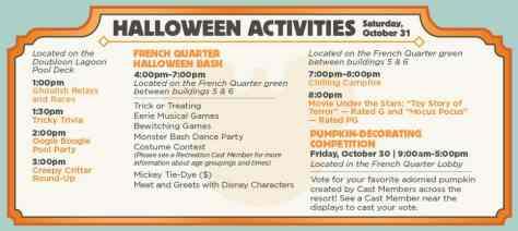 Halloween 2015 Port Orleans French Quarter