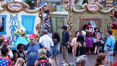 Mickey's Not So Scary Halloween Party at Walt Disney World's Magic Kingdom 2015 (39)