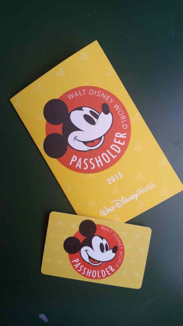 Walt Disney World Annual Pass design 2015
