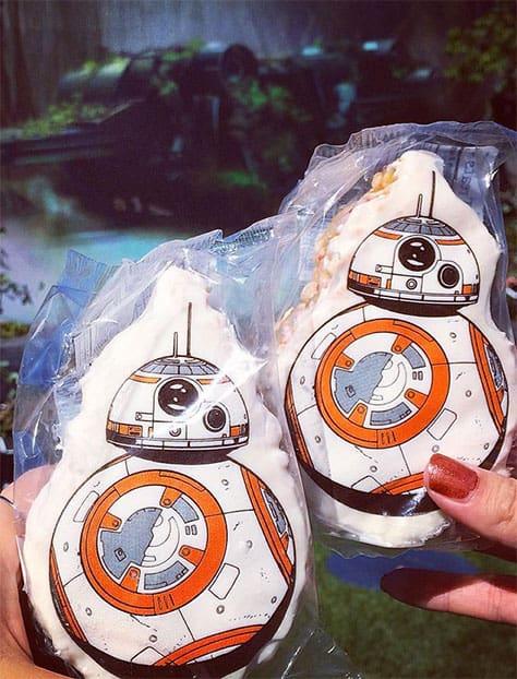 BB9 Rice Crispy treat for Star Wars Season of the Force