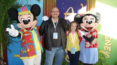 DVC 25th Anniversary Party at Magic Kingdom in Disney World Mickey and Minnie #dvc25