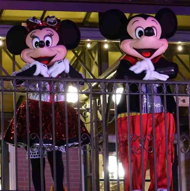 DVC 25th Anniversary Party at Magic Kingdom in Disney World Mickey and Minnie #dvc25