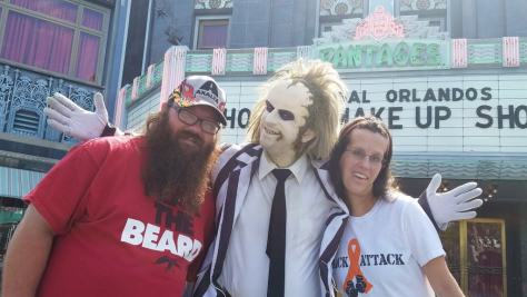 Universal Orlando Character Day with Ryan and Heather April 2016 (31) Beetlejuice