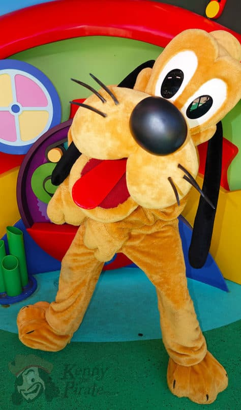 How to find Pluto in Hollywood Studios