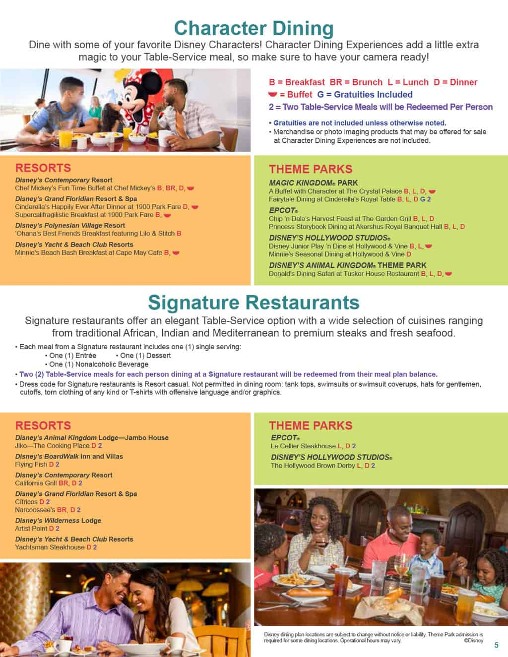 Free disney dining plan 2016 dates -  2017 Disney Dining Plan 5