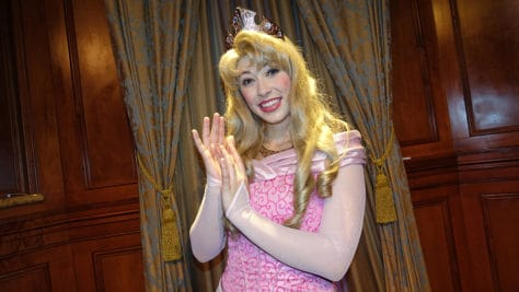 Meet Princess Aurora in Magic Kingdom at Walt Disney World (2)
