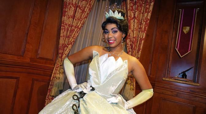 Princess Aurora and Tiana join the Princess Fairytale Hall lineup in the Magic Kingdom