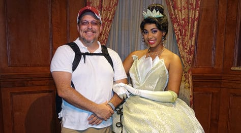 Meet Tiana at Magic Kingdom in Walt Disney World (3)