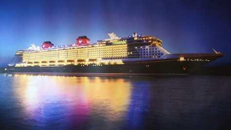 Cruise Ship Background
