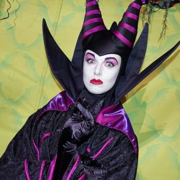 Maleficent at Disneyland Mickey's Halloween Party 2015