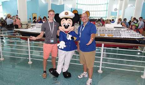 Mickey Mouse at Disney Cruise Terminal KennythePirate