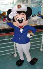 Mickey Mouse at Disney Cruise Terminal