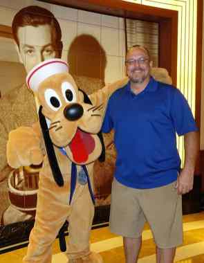 Pluto as Sailor onboard Disney Fantasy KennythePirate