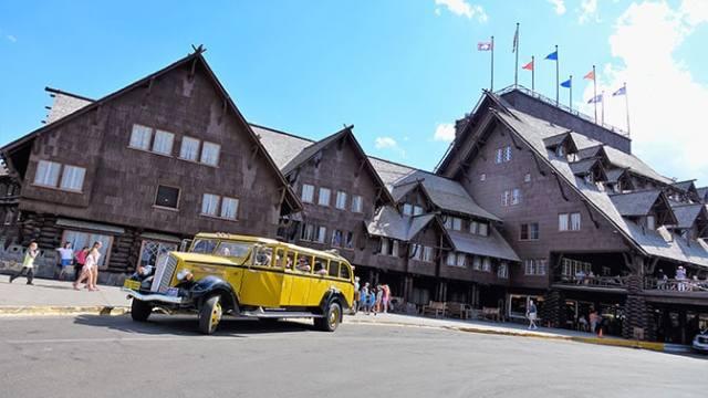 Yellowstone Day 3 Old Faithful Inn