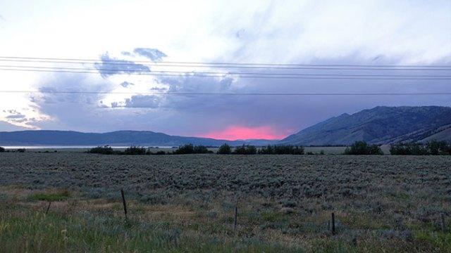 Yellowstone Day 3 Sunset