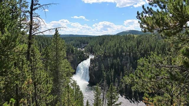 Yellowstone Day 5 Upper Falls