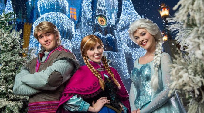 A Frozen Holiday Wish Castle Lighting to return for 2018