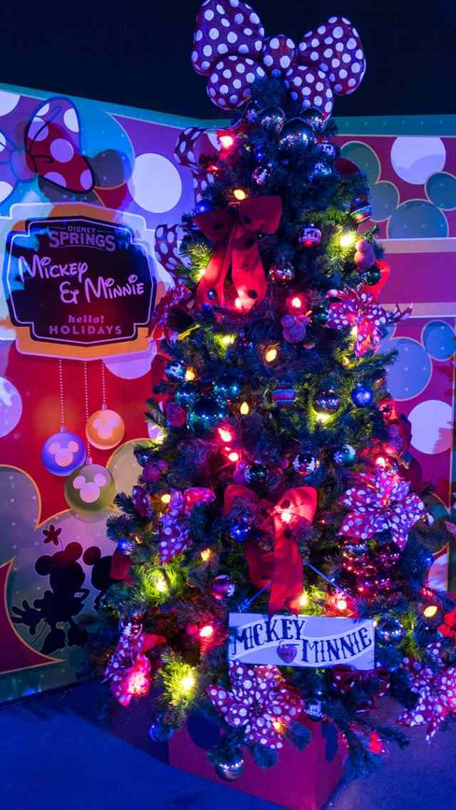 Disney Springs Christmas Tree Trail 2016