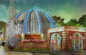 Planet Hollywood Observatory in Disney Springs opening soon