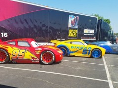 Sneak Peak: Cars 3 Lightning, Cruz Ramirez and Jackson Storm come to Disney Springs
