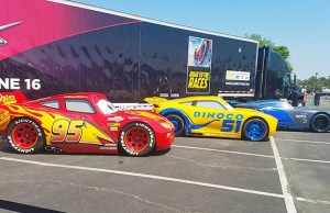Sneak Peak: Cars 3 Lightning, Cruz Ramirez and Jackson Storm come to Disney Springs
