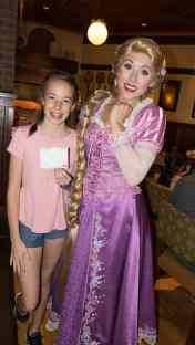 Bon Voyage Adventure Breakfast at Trattoria al Forno on Disney World Boardwalk Rapunzel