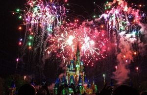 Happily Ever After Fireworks Show at the Magic Kingdom