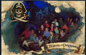 Pirates of the Caribbean to offer an on-ride photo opportunity!