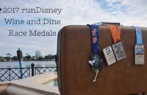 2017 runDisney Wine and Dine Race Medals