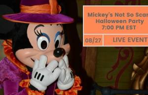 Mickey's Not So ScaryHalloween Party 2017 LIVE Webinar Event