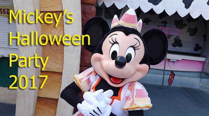 Disneyland Mickey's Halloween Party 2017 Review