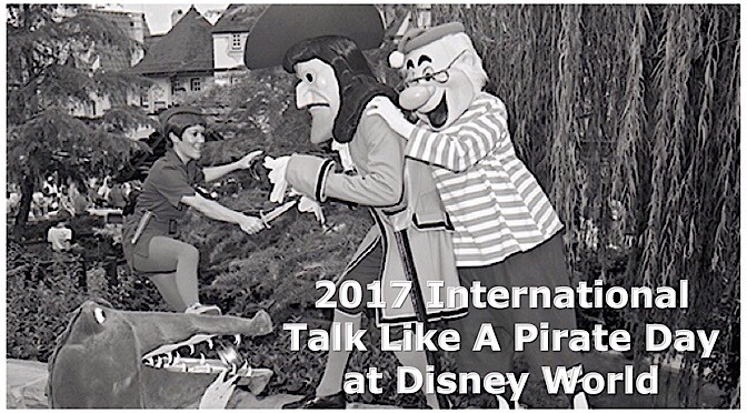 2017 International Talk Like A Pirate Day at Disney World