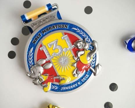 2018 Walt Disney World Marathon Weekend Race Medals