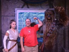 Rey has begun meeting guests at Disneyland!