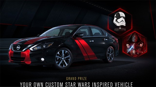 Win your own Star Wars inspired Nissan vehicle