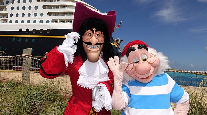 Captain Hook and Mr. Smee to offer meet and greets as part of Peter Pan celebration