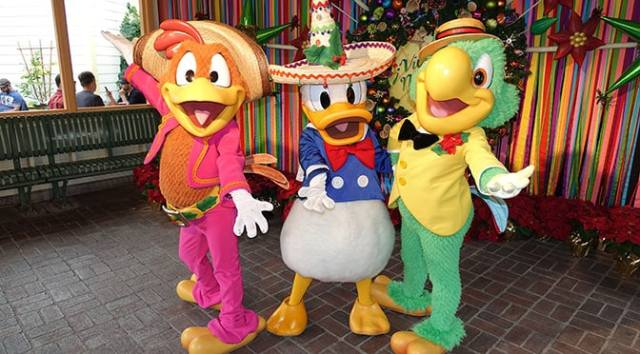 Jose and Panchito to join Animal Kingdom Discovery Island Carnivale for a limited time