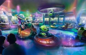 New Alien Swirling Saucers artwork and comment on possible Hollywood Studios name change