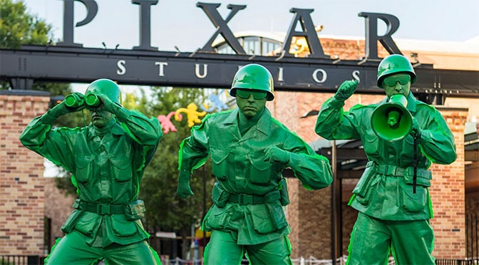 New Green Army shows coming to Toy Story Land could include Women