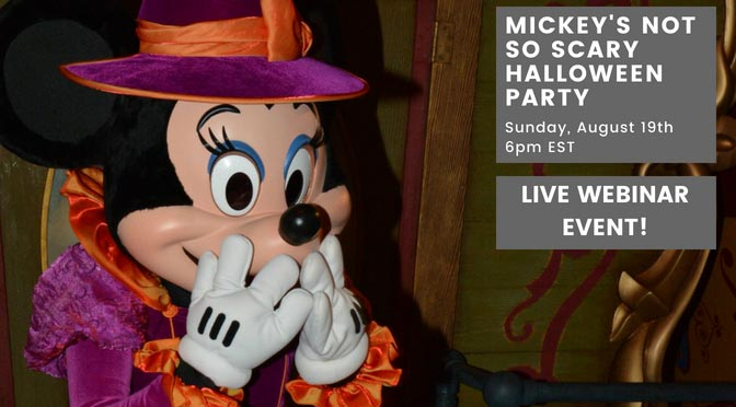 Mickey's Not So Scary Halloween Party 2018 LIVE Webinar