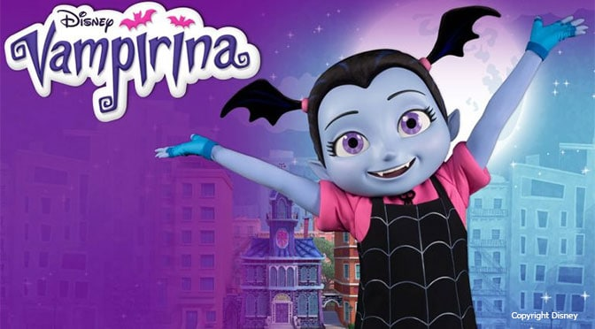 Vampirina is coming to Disneyland and Walt Disney World this week!