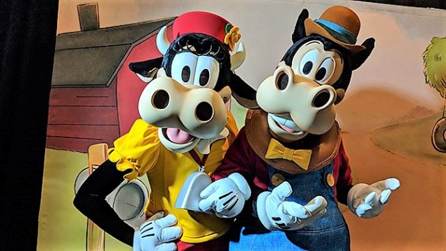 DVC Moonlight Madness at Hollywood Studios Clarabelle Cow and Horace Horsecollar
