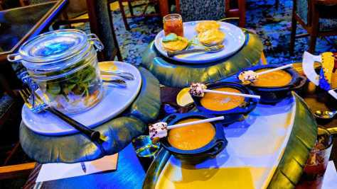 Artist Point Storybook Dining at Disney's Wilderness Lodge Appetizers