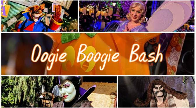 Oogie Boogie Bash a little darker Disney Halloween Party