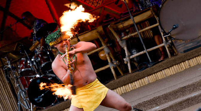 Disney's Spirit of Aloha Show Whisks Guests Away to a Tropical Island