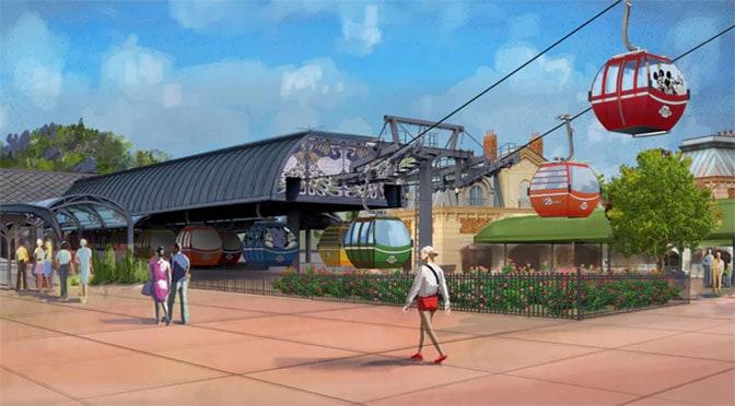 What will happen if the Disney World Skyliner Gondola requires evacuation?