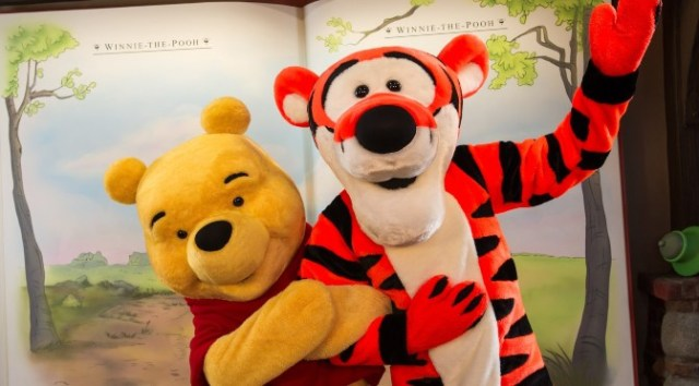 Winnie the Pooh has returned to Epcot