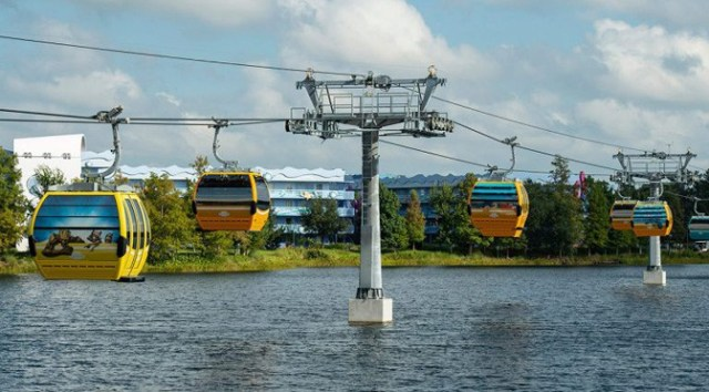 Skyliner Accident Shuts Down System