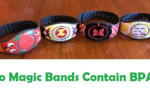 Do Magic Bands Contain BPA ?